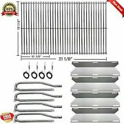 Gas Grill Cooking Grid Grates Stainless Steel Burners Pipe For Jenn Air 720-0337