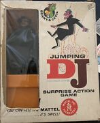 Vintage 1962 Jumping Dj Game By Mattel - Beany And Cecil Complete