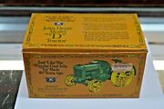 Authentic John Deere Model D 1923 Cast Iron Toy Like Toy Made 40 Yrs Ago Nib