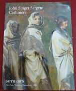 John Singer Sargent Painting Cashmere-sotheby's New York Auction Catalog12/5/96
