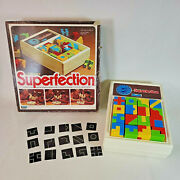 Vintage 1980's Superfection Lakeside Super Perfection Game View