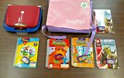 Leapfrog Leappad Learning System W/ Carrying Case With Five Games