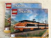 Lego Creator 10233 Horizon Express - 2 Out Of 3 Instruction Books Only