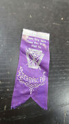 1890s Hook And Ladder Co No 1 Reading Pa Ribbon Fire Department Fighting Purple
