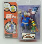 The Simpsons Pie Man And Cupcake Kid Mcfarlane Toys Simple Simpson - New In Box