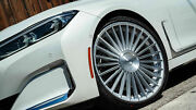 22 Staggered Road Force Wheels Custom Cut For 2004 Bmw 7 Series +20 +25 Offset