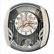 Fw563a Seiko Disney Time Automaton Wall Clock Radio Wave Clock Analog Quartz