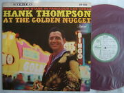 Test Press Red Vinyl / Hank Thompson At The Golden Nugget / 60and039s Flip Back Cover