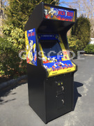 Black Tiger Arcade Machine New Full Size Video Game Can Play Many Games Guscade