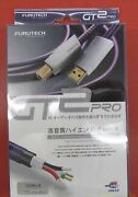 Used Gt2pro-b 3.6 Furutech Rca Line Cable High-end Audio-grade Usb A-b Type