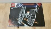 Used Lego 9492 Tie Fighter Instruction Booklet