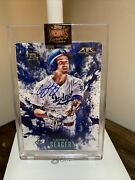 2021 Topps Archives Corey Seager 1/1 Rc Auto 2016 Topps Fire 🔥 Mvp Rare
