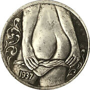 Hobo Nickel 1937-d Girl Coins Collections Engraving Art Coin Gift Free Shipping