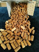 Lot Of 200 Natural Used Wine Corks For Crafting - No Synthetics - Ships Free