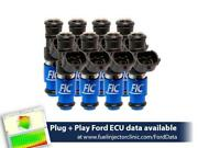 Fuel Injector Clinic 2150cc Fuel Injector Set For Ford Shelby Gt500 07-14