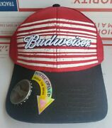 Budweiser Beer Bottle Opener Snapback Hat Cap New With Tags Free Boxed Shipping