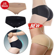 Womenand039s Seamless Panty Push Up Buttock Hip Pads Butt Lifter Padded Underwear Tbn