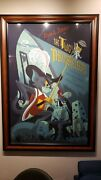 Tom And Jerry The Two Musketeers By Anne Benjamin - Rare Sold Out Mondo Print