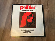 1977 Phillies The First 100 Years Record Album Narrated By Harry Kalas Rare