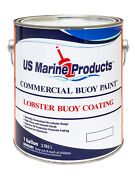 Lobster Buoy Paint Green - Us Marine Products - Green Gallon Buoy Coating