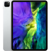 New Apple Ipad Pro 11and039and039 2nd Gen 2020 Silver 512gb Wifi+5g Factory Unlocked Gsm