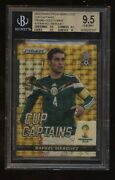 2014 World Cup Prizm Gold Power Superfractor Rafael Marquez Bgs 9.5 Mexico 1/1