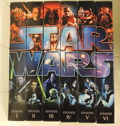 2011 Star Wars Blu-ray Commemorative Figure Pack Complete All Episodes Full Set