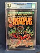 Special Marvel Edition 15 Cgc 8.5 1st Appearance Shang Chi Master Of Kung Fu