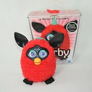 Hasbro Furby Boom Red Cherry Black Interactive Electronic Petworks Toy 2012