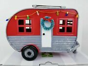 Christmas Camper Scentsy Warmer - Sold Out On Website - Nib