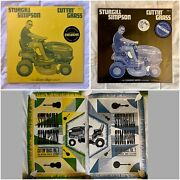Sturgill Simpson Cuttin' Grass Vol. 1 And 2 Colored And Limited Numbered Posters
