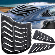 Rear+side Window Louver Windshield Sun Shade Cover Gt For Ford Mustang 2015-2021