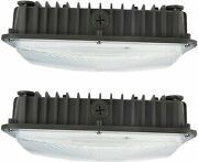 70w Led Gas Station Canopy Ceiling Light For High/low Bay Carport Parking Garage