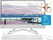 Hp 24-inch All-in-one Touchscreen Desktop Computer Amd Athlon Gold 3150u Proces
