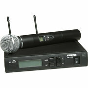 Shure Ulxs24/58-jb Wireless System With Adapter Microphone Holder Pouch Used