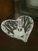 Marquis Waterford Sheridan Heart Ring Holder 3 Brand New In Box Retail 50