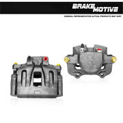 Front Oe Brake Calipers Pair For Cadillac Cts Sts