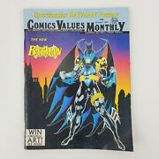 Vintage October 1993 86 Comics Values Monthly Attic Books Magazine No Poster