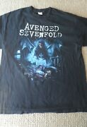 Avenged Sevenfold Adult Shirt Size Xl Concert Music Its Your F..ng Nightmare