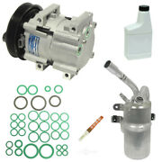 A/c Compressor And Component Kit-se Vin 3 Dohc Mfi Electronic Fits Ford Focus