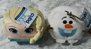 Cubd Collectibles Soft Plush Stuffed Cube - New - Disney Frozen Elsa And Olaf