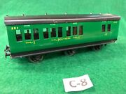 8 Exley 00 Scale Coach Southern 6 Wheel 3rd Class/brake Coach Excellent Cond