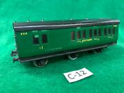 12 Exley 00 Scale Coach Southern 6 Wheel 3rd Class/brake Coach Excellent Cond