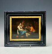 Antique Old Master Jan Steen Style Oil Painting