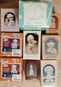Lot Of 9 Precious Moments Figurines All New In Box See Pics And Description