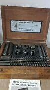 Dumont Minute Man No.40 Keyway Broach Set With Wooden Box