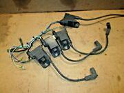 Force Oem 1995 And Up 120 Hp Cdm Module Ignition Coil Set Of 4 With Harness