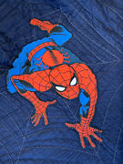 Pottery Barn Kids Spiderman Twin Quilt And Standard Sham Photo Shoot Sample