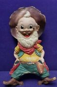 Last Chance Joe Squeak Toy Rempel Roscoe Reading Casino Cowboy 1950and039s Sparksandnbsp