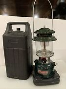 Coleman 288 Two Mantle Gas Lantern Empty With Case